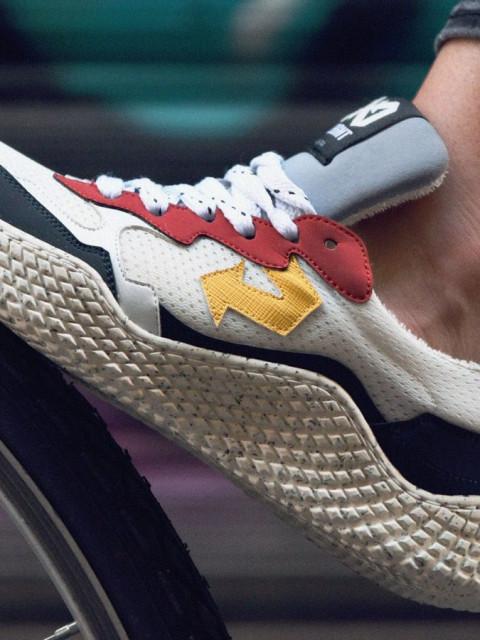 可持续发展的运动鞋