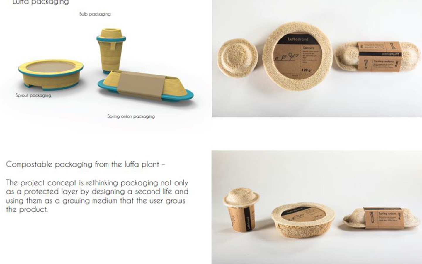 biodegradable growing package