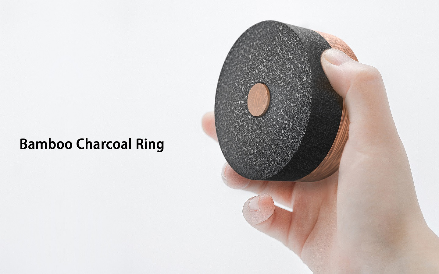 Bamboo Charcoal Ring
