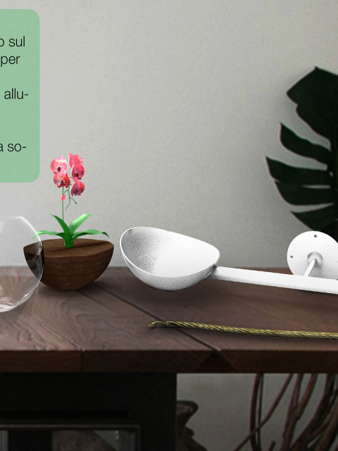 HUB, the smart vase