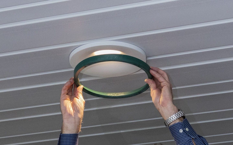 A circular lamp-Fischer Family