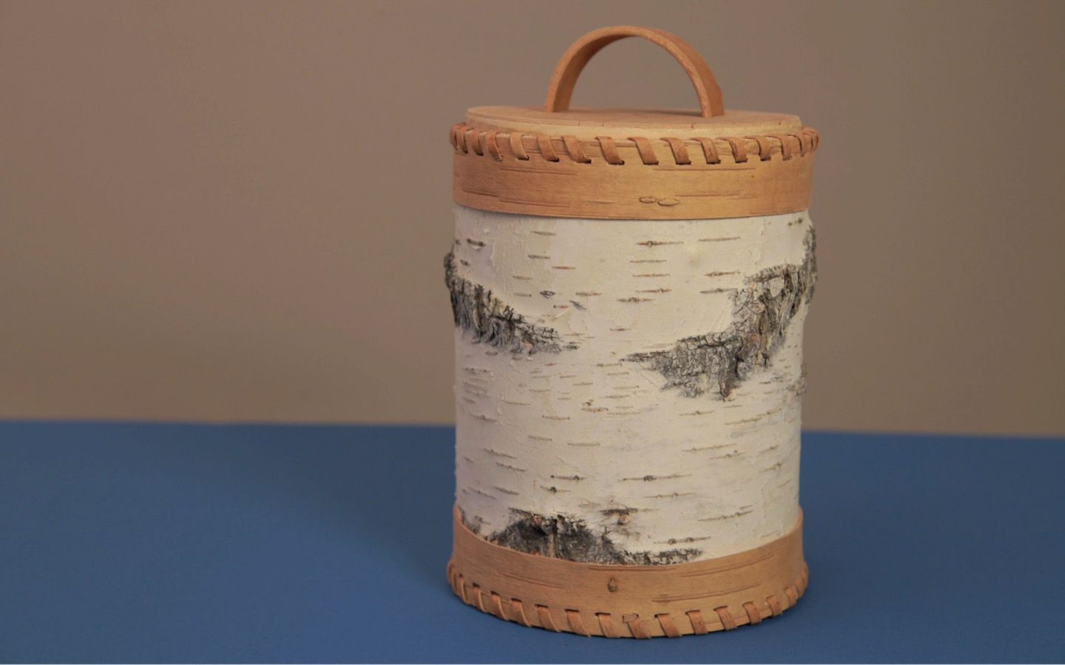 Birch bark food containers