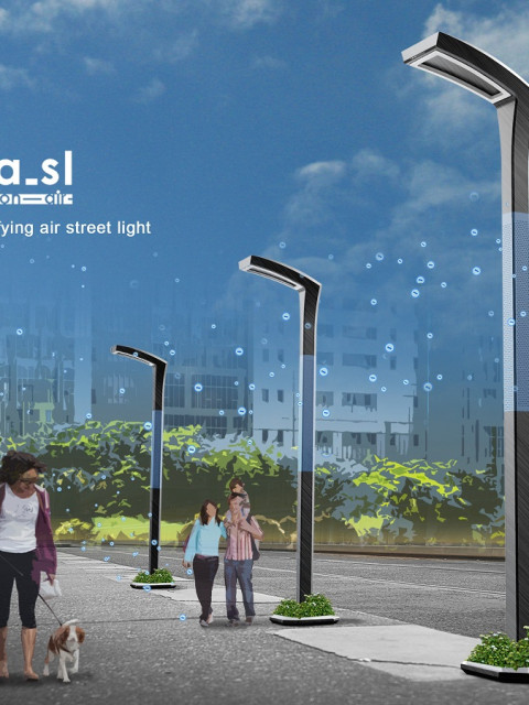 Anion air street light