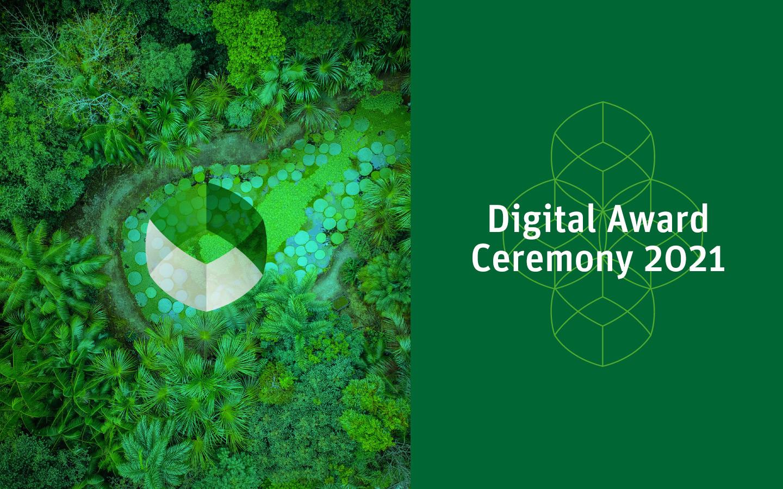 Invitación a la ceremonia de premiación digital 2021  Übersetzung speichern