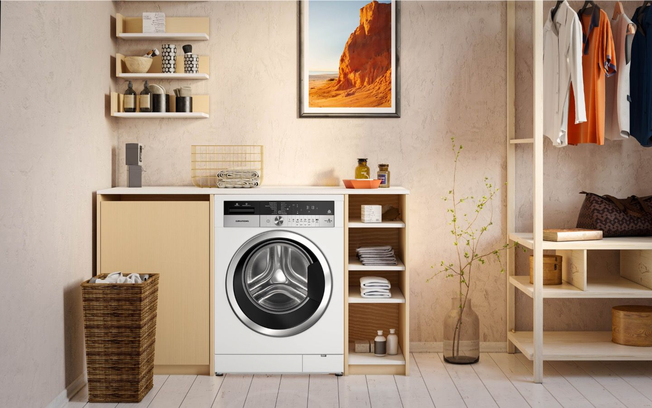 Edition 75 washer-dryer