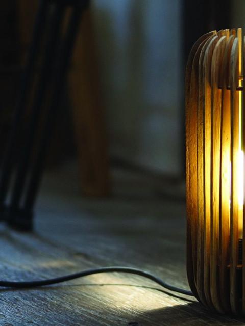 Firewood Lamp