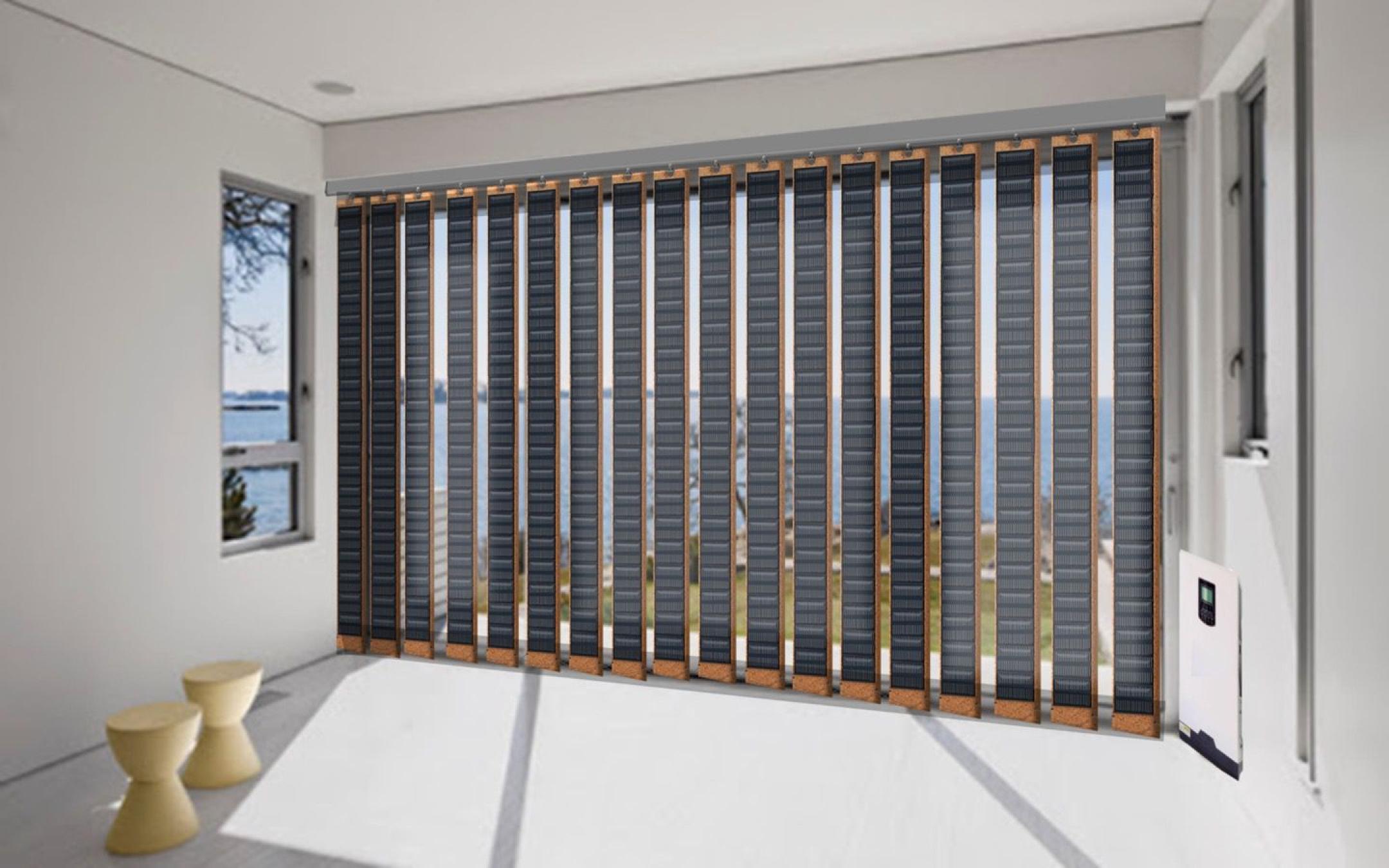 Fensterläden Sonnenenergie