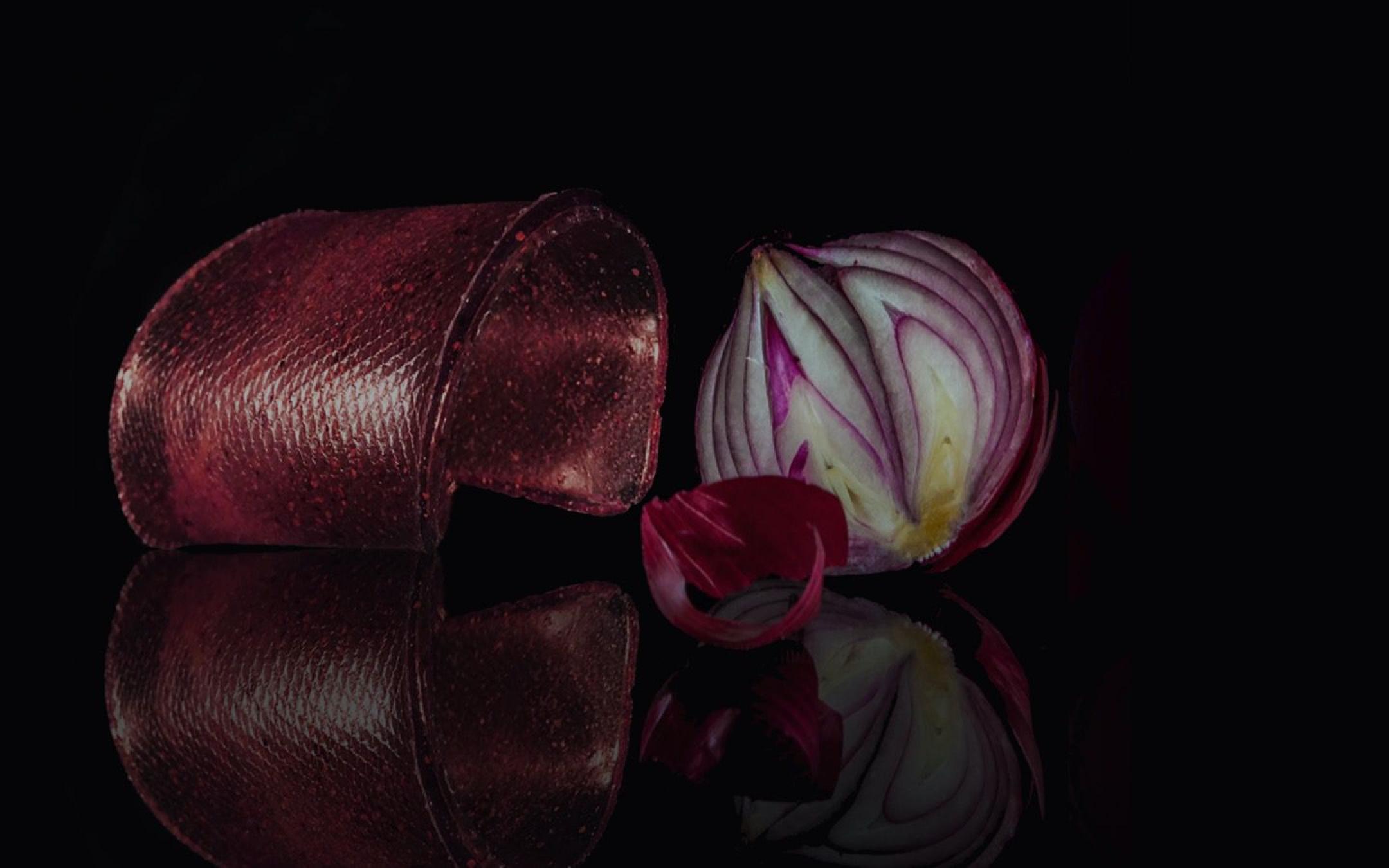 Onion bio leather