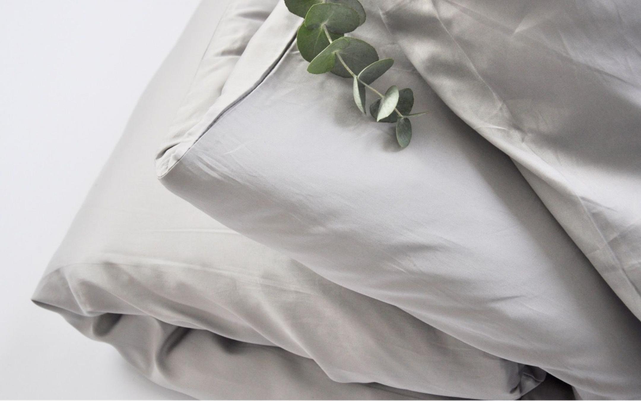 Ropa de cama de eucalipto