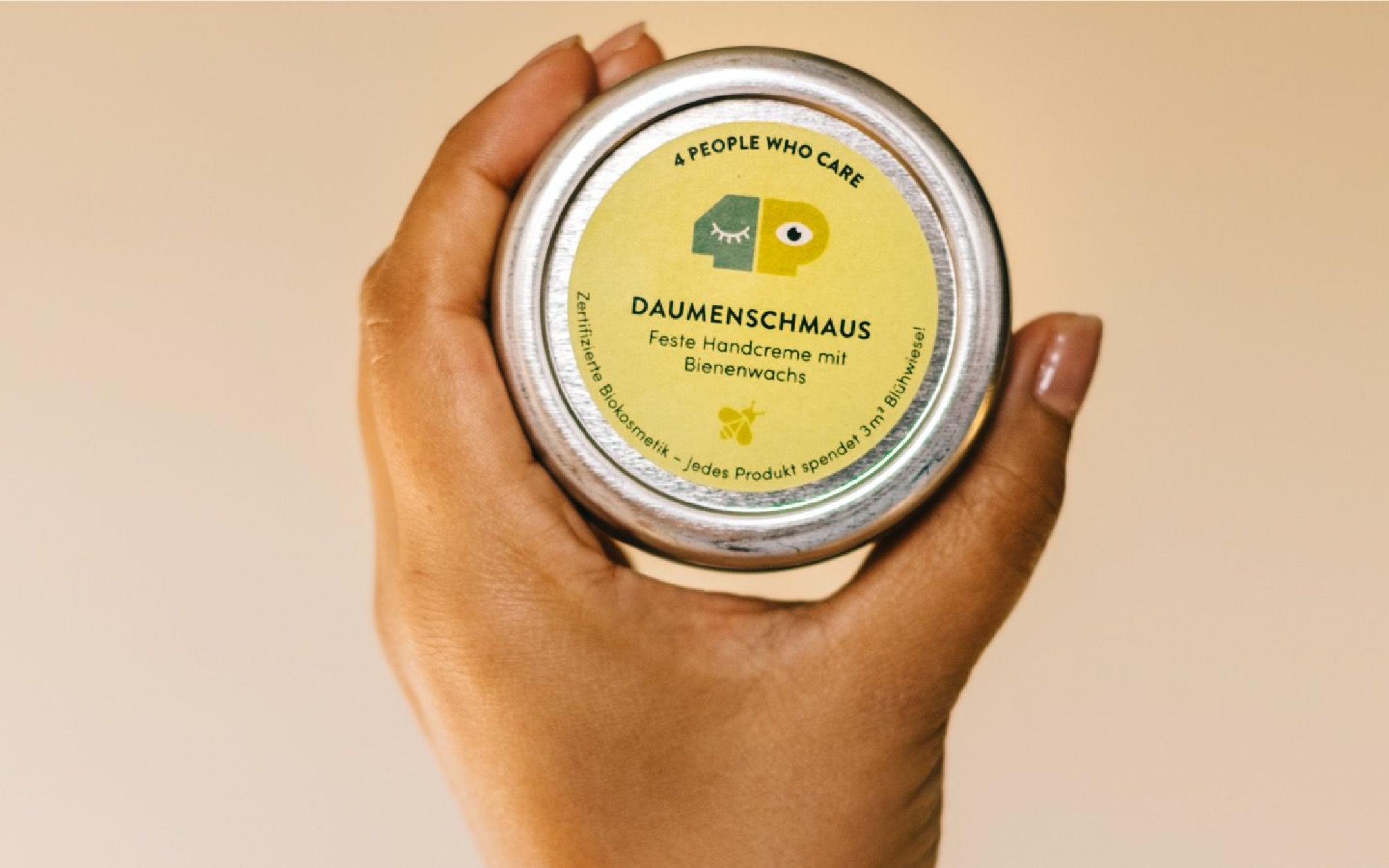 Daumenschmaus–Feste Handcreme