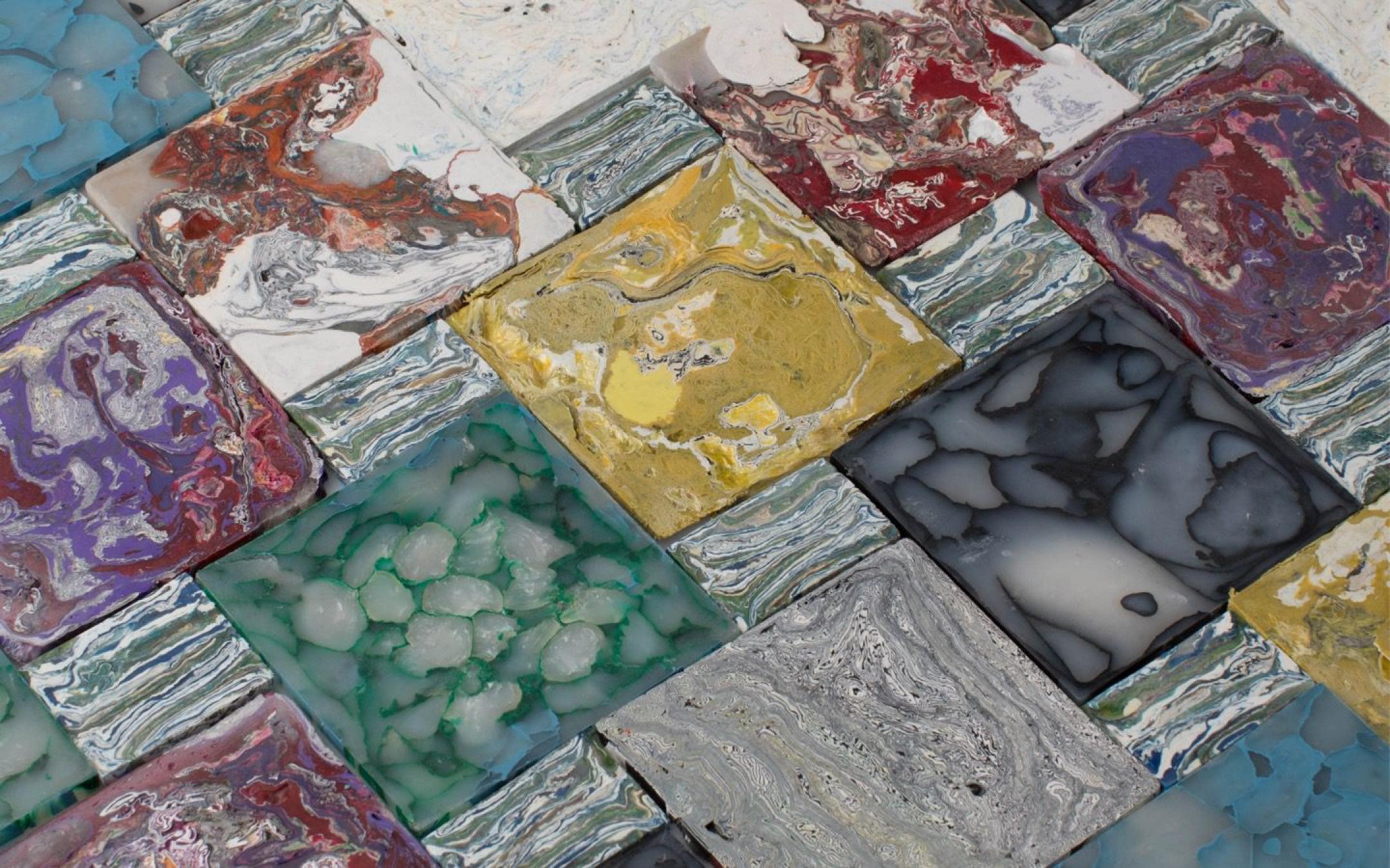 Plastic Stone Tiles