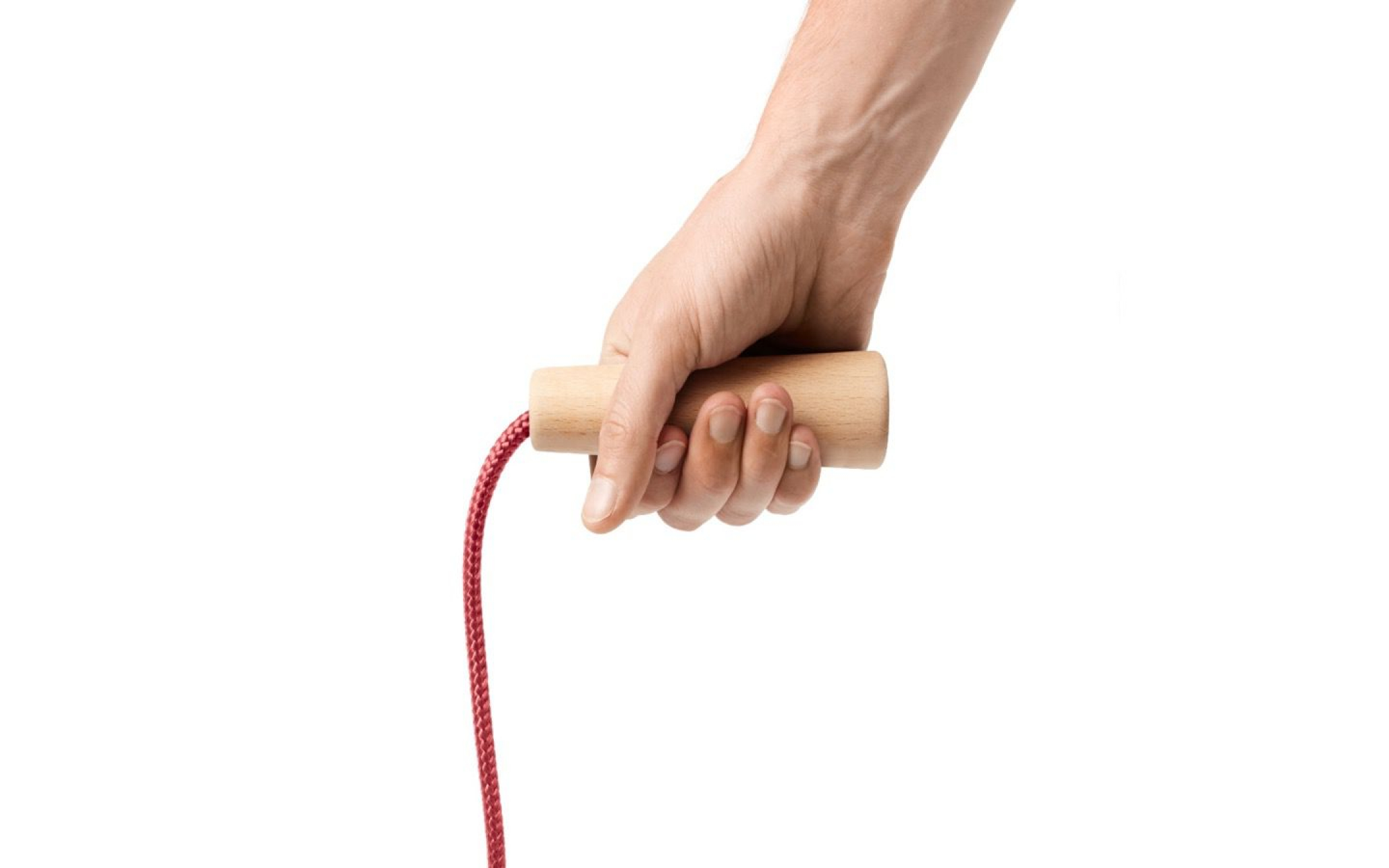 Skipping rope from PET bottles