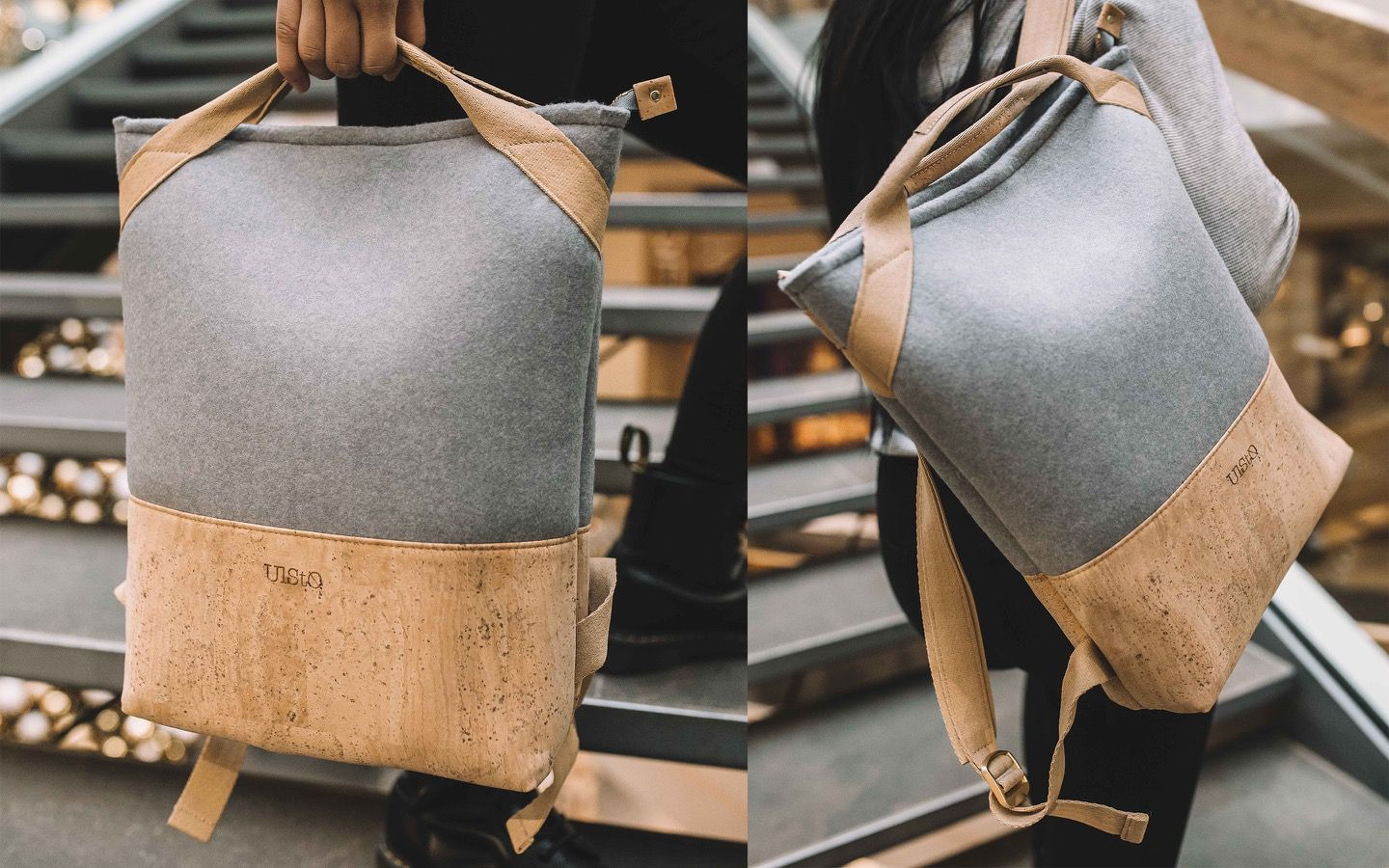 LUCO recycle backpack