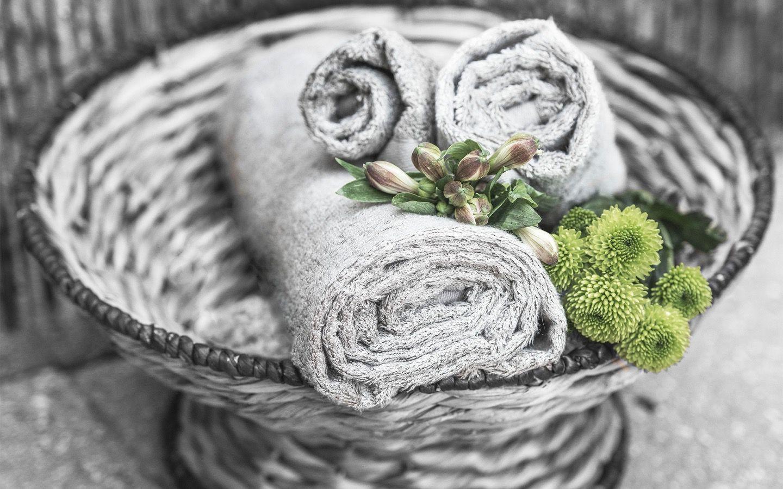 Ayurvedic Dyed Towels