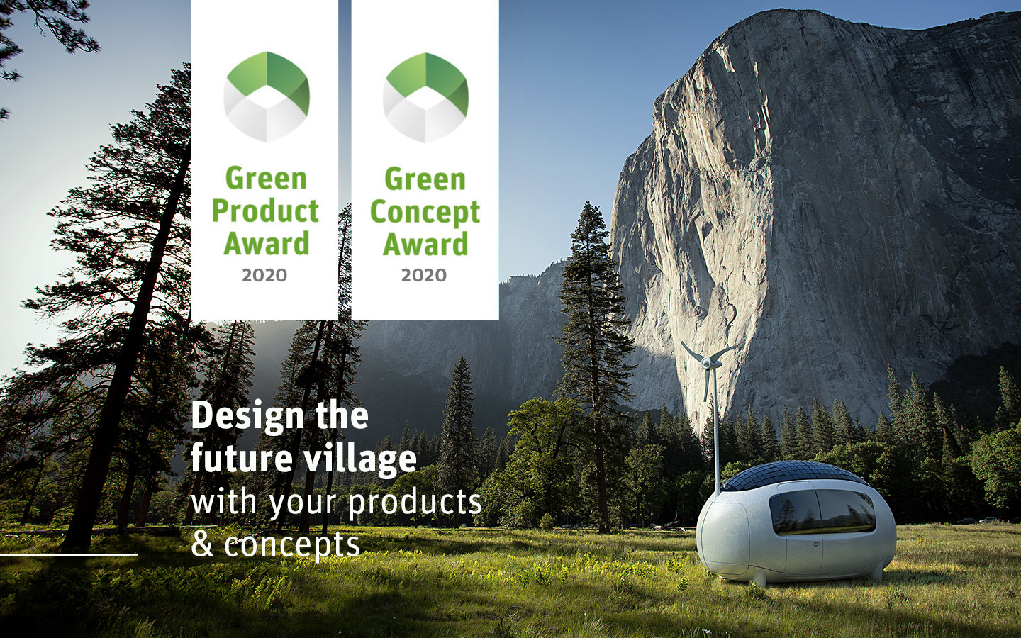 "Green Product Award 2020- The ""Future Village"""