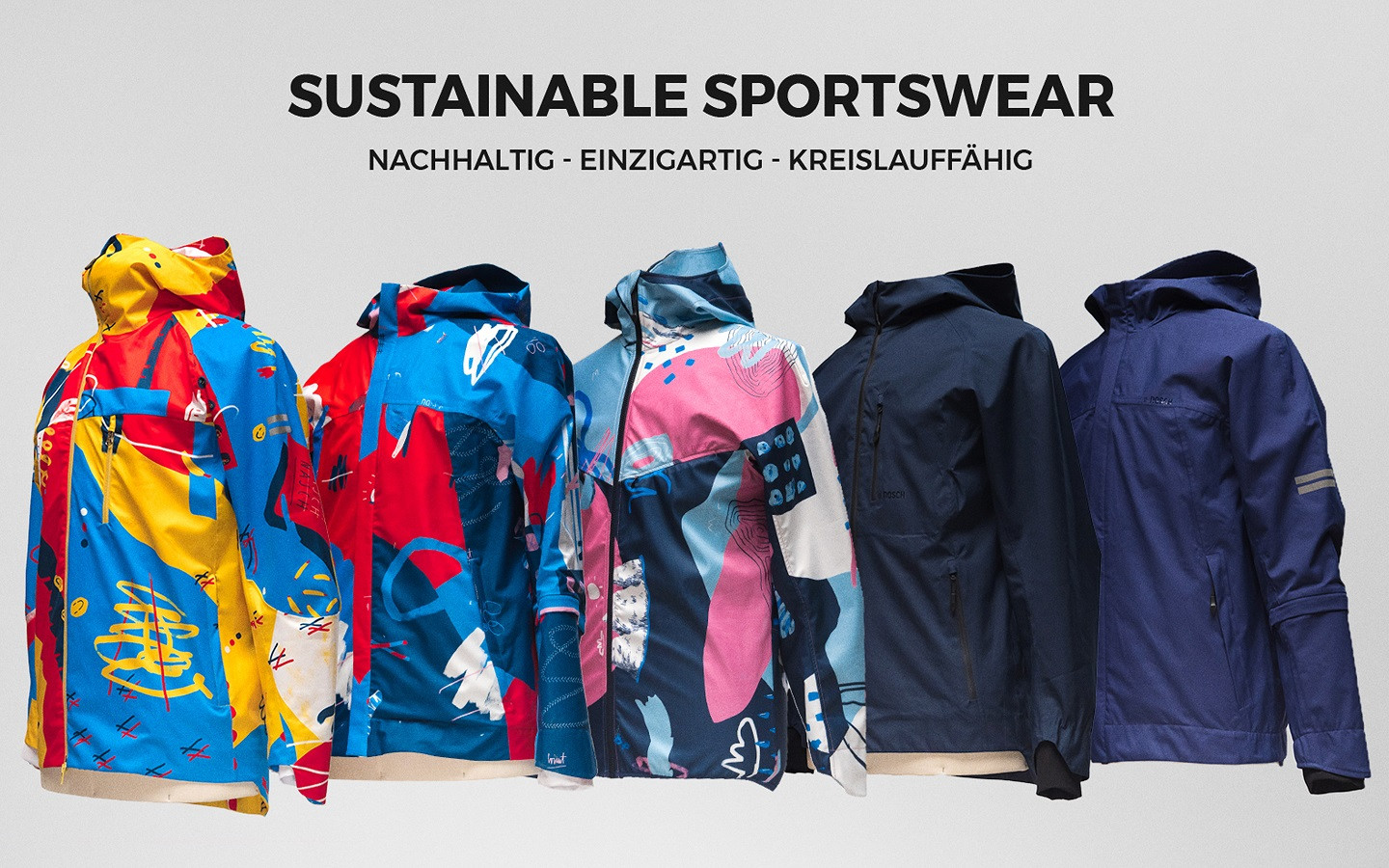 NASCH*sustainable Sportjackets