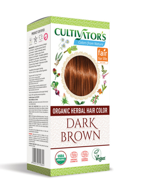 Cultivator's Organic Herbal Hair Colors