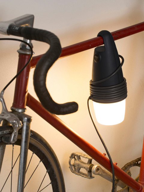 Hook, ecological and solidary lamp