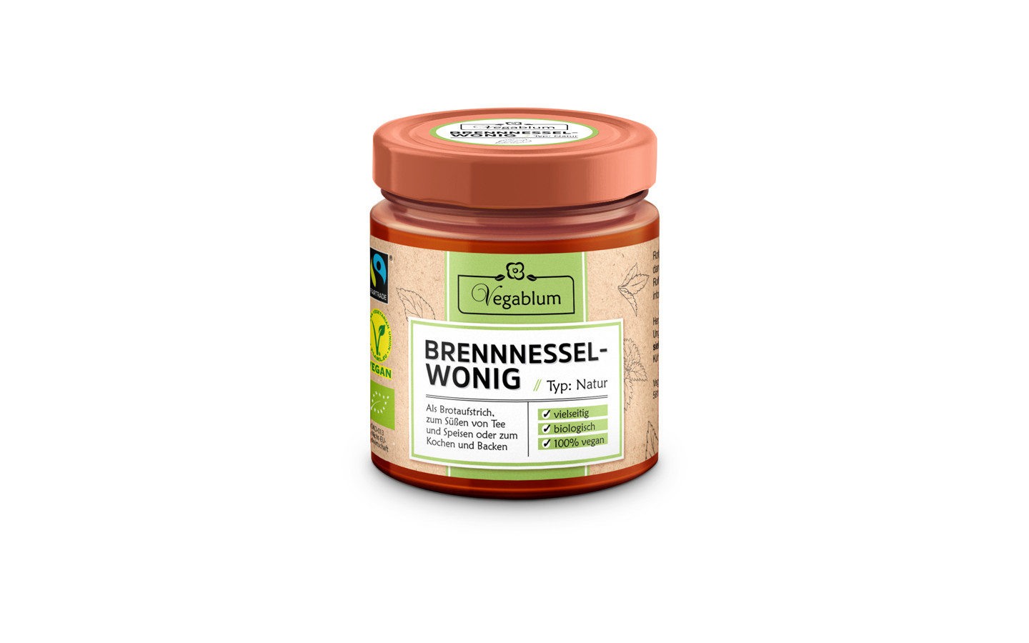 Wonig - The vegan Honey-Alternative
